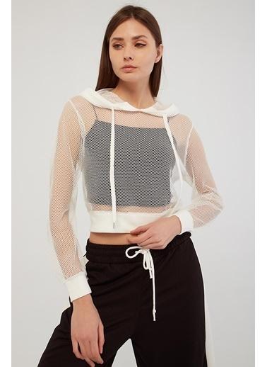 Modaset Sweatshirt Beyaz